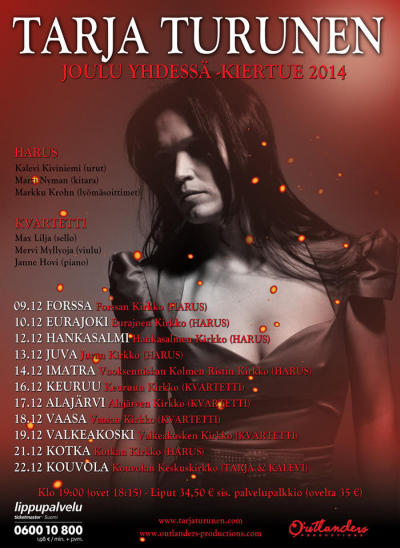 Christmas together - tour of Tarja Turunen